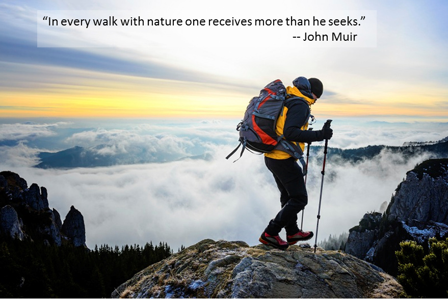 Photo of Best Hiking Quotes