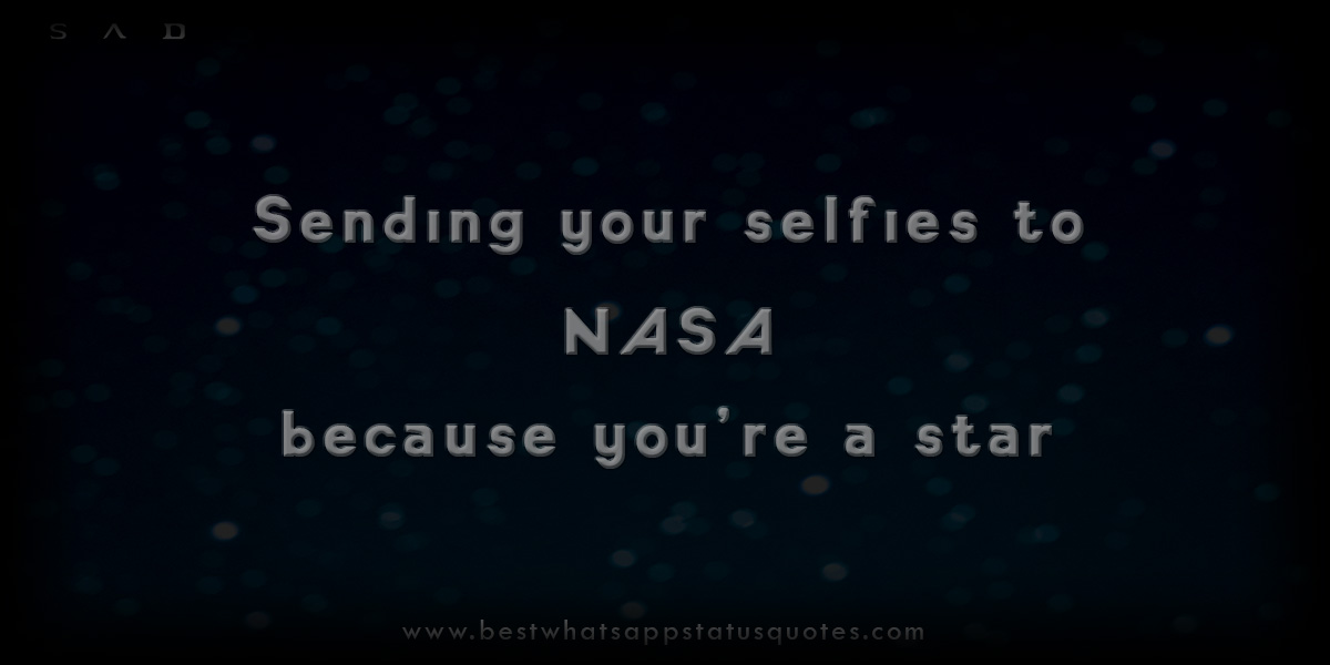 Fantastic Selfie Status for Whatsapp | Best Short Selfie Quotes