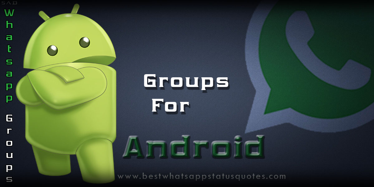 Android Whatsapp Community Groups