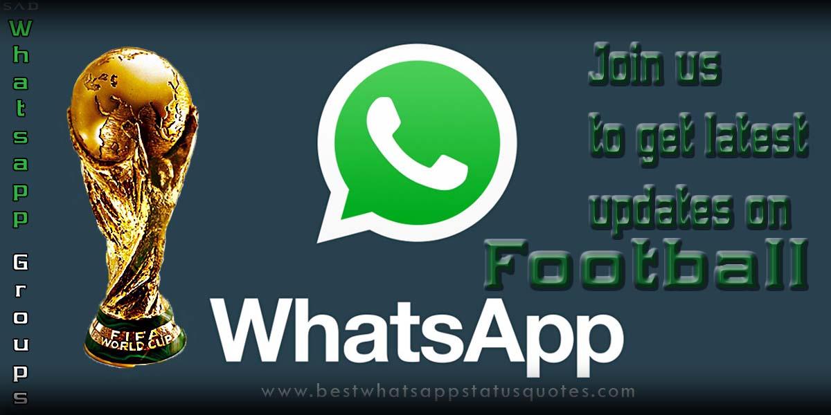 Football Whatsapp Groups