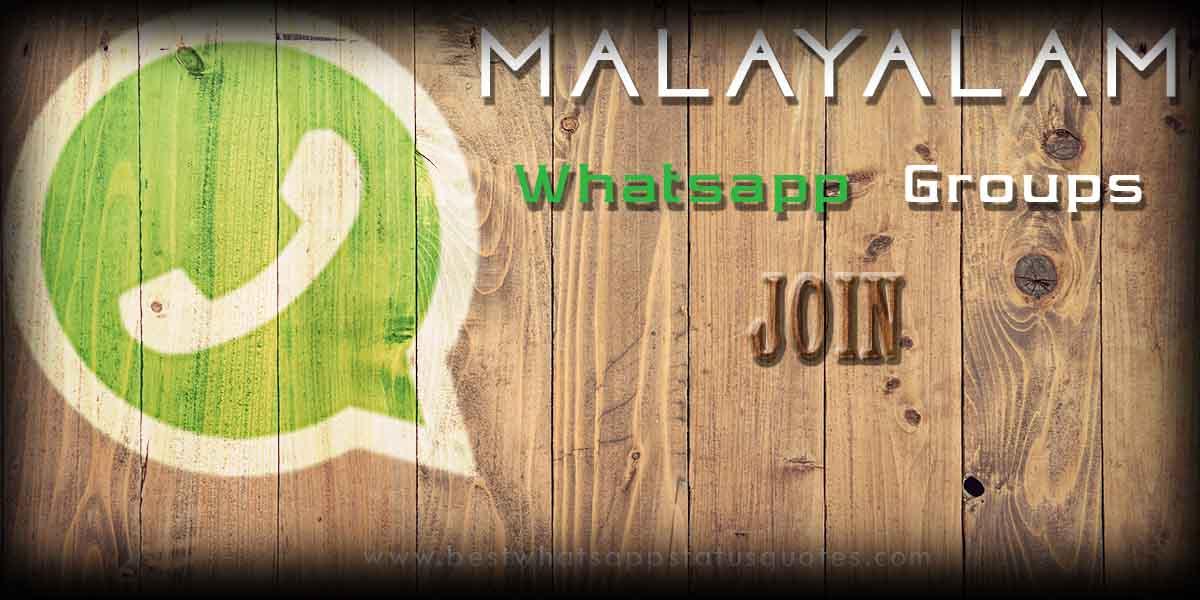 Malayalam Whatsapp Groups