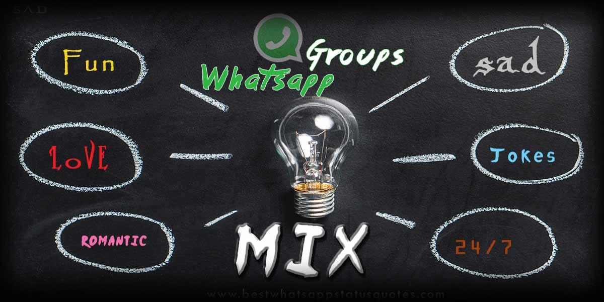 Mix Whatsapp Group