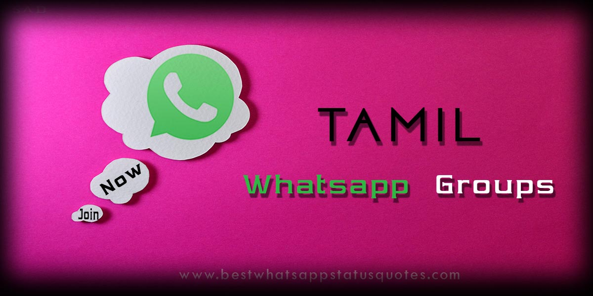 Tamil Whatsapp Groups